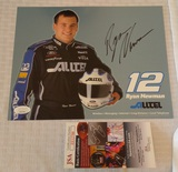 Ryan Newman Autographed Signed Hero Card NASCAR JSA