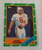 Key Vintage 1986 Topps NFL Football #374 Steve Young Rookie Card RC HOF