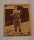 Vintage 1940 Playball Baseball Card #80 Cincinnati 2nd Year