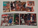 10 Michael Jordan NBA Basketball Card Lot Bulls HOF Base Insert