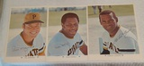 3 Vintage 1971 Arco Pirates 8x10 Jumbo Card Lot Stars HOFers Clemente Stargell Mazeroski