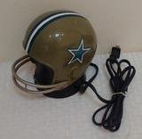 Vintage Dallas Cowboys NFL Football Helmet Alarm Clock 1980s