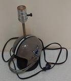 Vintage 1979 Dallas Cowboys NFL Football Helmet Lamp Works 1979