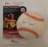 Edgar Renteria Autographed Signed ROMLB Baseball Giants Marlins Reds JSA COA