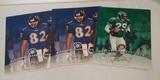 3 Leaf 1997 Autographed Signed 8x10 Insert Card Lot Photos Murrell Alexander