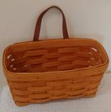 Longaberger Wall Basket Leather Strap Handle