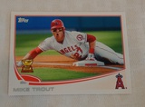 2013 Topps Baseball #27 Mike Trout 2nd Year Card Angels Nice Sharp