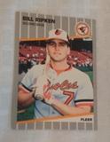 1989 Fleer Baseball #616 Billy Ripken Error RICK FACE Orioles RC Rookie Rare Iconic Card