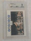 2008 Topps Baseball Card #7 Mickey Mantle Yankees HOF BGS 9 MINT Beckett GRADED