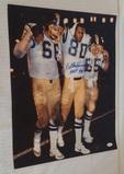 Kellen Winslow Autographed Signed 16x20 Photo Charges HOF 95 Inscriptions JSA NFL Football