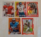 5 Prizm NFL Football Card Lot Rookies Diecut Steve Young