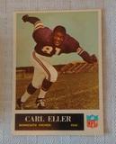 Vintage 1965 Philadelphia NFL Football #105 Carl Eller Rookie Card RC Vikings HOF Solid Grade