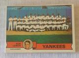 Vintage 1979 Topps Baseball Yankees Team Card SEALED Set Reggie Rare