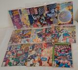 17 Silver Surfer Comic Book Lot #1 #2 Marvel
