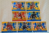 7 NFL Football 2014 Panini Crusade Rookie Card Lot Refractor Cards Inserts