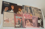 Vintage Elvis Presley Lot Scrapbook Clippings Publications & More