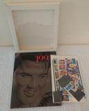 USPS Commemorative Stamp Collection 1993 Elvis Presley $20+ Face Value Stamps