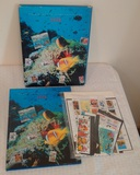 USPS Commemorative Stamp Collection 1994 Fish w/ 93 Stamps $28+ Face Value Stamps