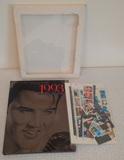 USPS Commemorative Stamp Collection 1993 Elvis Presley w/ 71 Stamps $20+ Face Value Stamps