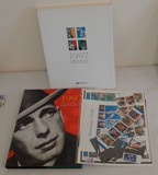 USPS Commemorative Stamp Collection 1997 w/ 65 Stamps Frank Sinatra $28+ Face Value Stamps