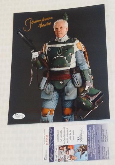Jeremy Bulloch Autographed Signed 8x10 Photo Boba Fett Star Wars Actor JSA COA