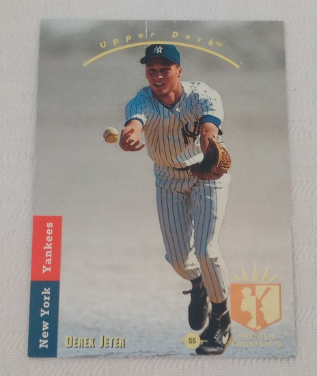 Key Vintage 1993 SP Baseball Rookie Card #279 RC Derek Jeter Yankees HOF Lower Grade