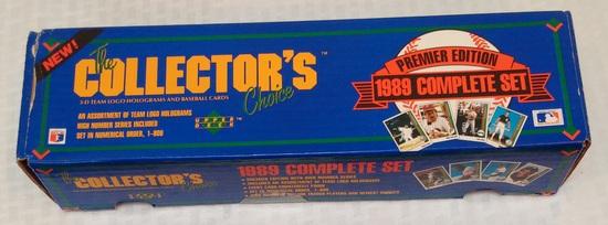 1989 Upper Deck Baseball Factory Sealed Complete Set #1 Ken Griffey Jr Rookie Card RC Potential GEM