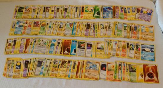 Approx 220 Pokemon Card Lot CCG Cards Bulk Dealer Lot 1999 2000 2006 2007 2008 2010 Many NRMT