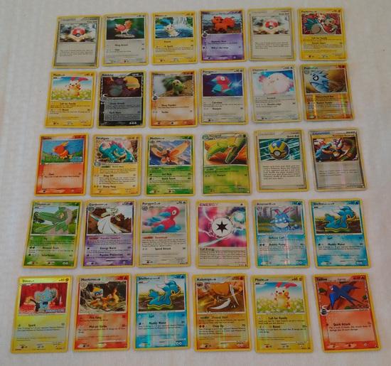 30 Pokemon Foil Reverse Holo Card Lot CCG Inserts Many NRMT 2006 2007 2008 2009 2010