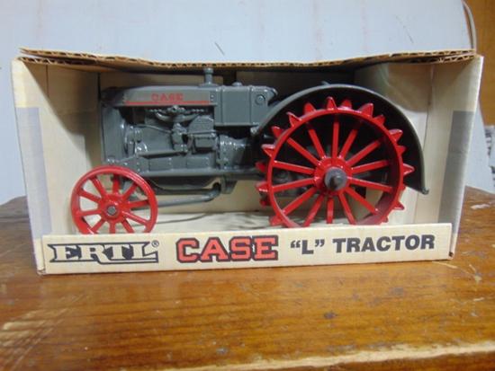 CASE Model L Toy Tractor, NIB, 1/16 Scale