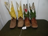 2 Pairs Of Tony Lama Leather Cowboy Boots