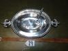 Cast Aluminum Serving Platter W/ Matching Spoon