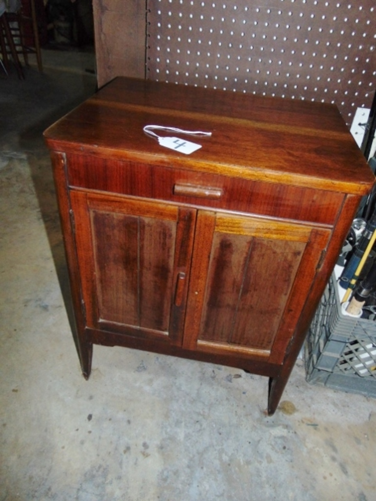 Vtg Bedside Commode Cabinet W/... Auctions Online | Proxibid