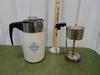 Vtg Corning Ware Blue Cornflower Stove Top Coffee Perculator