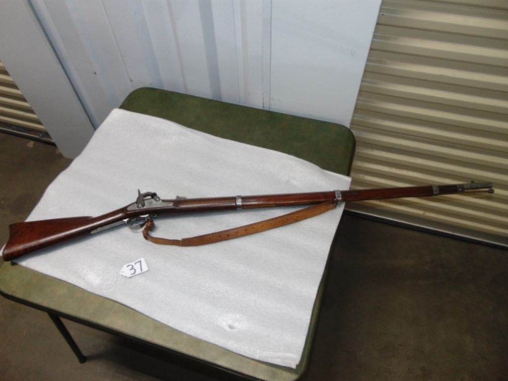 Antique U.S. Springfield Model 1861 .58 Caliber Long Rifle / Musket