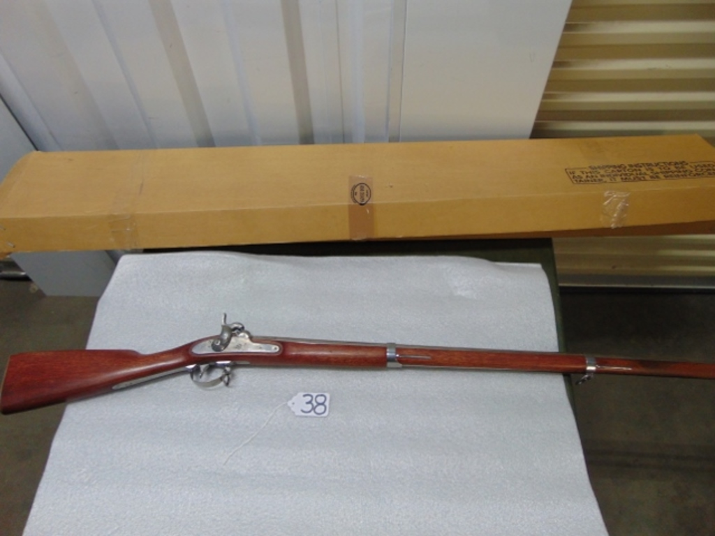 Reproduction 1847 Springfield .69 Caliber Percussion Long Rifle