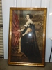 "Huge 38"" X 59"" Portrait Print Of Mary Queen Of Scots In Gilded Frame LOCAL PICK UP ONLY"