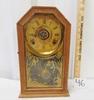 Antique Key Wind Mantle Clock