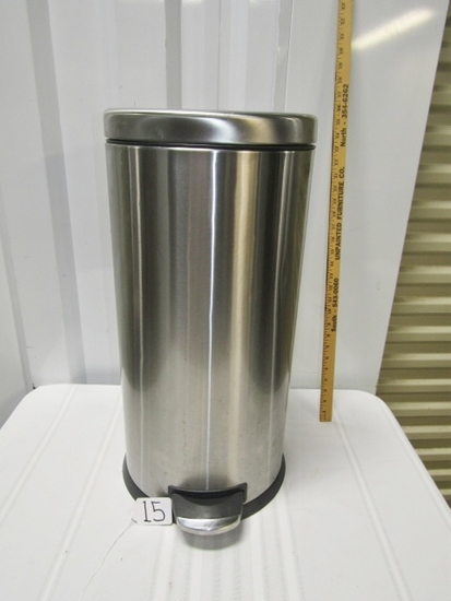 Nice Stainless Steel 25 Inch Tall Trash Can