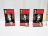 Three N I B One Direction Mini Figures: Niall Horan, Zayn Malik And