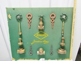 Vtg Jenkins Bros Point Of Sale Advertising For Valves And Washers  (LOCAL PICK UP ONLY)