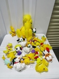 Large Lot Of Peanuts Woodstock & Snoopy Plush Toys