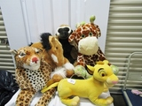 Lot Of 5 Large Plush Toys