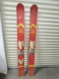 Vtg Healthways Aqua - Flite Custom Clipper Wooden Water Skis