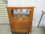 Rolling Repro Polar Ice Refrigerator Cabinet (local Pick Up Only )