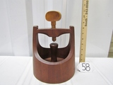 Vtg Early Dansk Teak Wood Nutcracker By Jens Quistgard