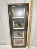 4 Different Framed Limited Edition Prints Of Labrador Retrievers By