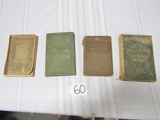 4 Antique Books: 1890 Riverside Literature Series; 1906 Riverside Series
