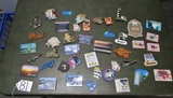 Large Lot Of Vtg Refrigerator Magnets