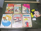 Vtg Comic Books And Children's Books